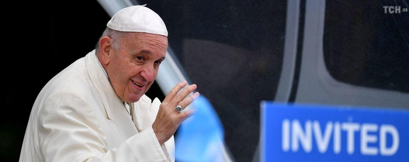 Пострадавшим на Донбассе выделили более 15 миллионов евро по инициативе Папы Римского