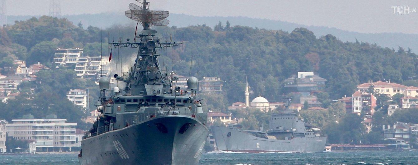 Росія стягує до Середземного моря найбільшу флотилію за весь час війни в Сирії – ЗМІ