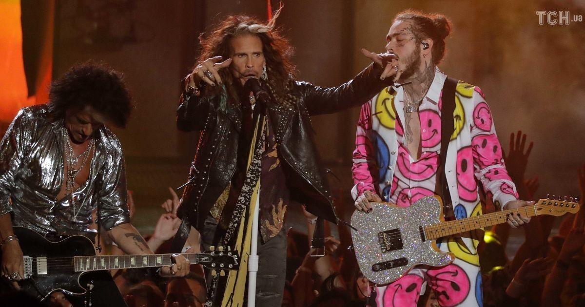 Aerosmith и Post Malone @ Reuters