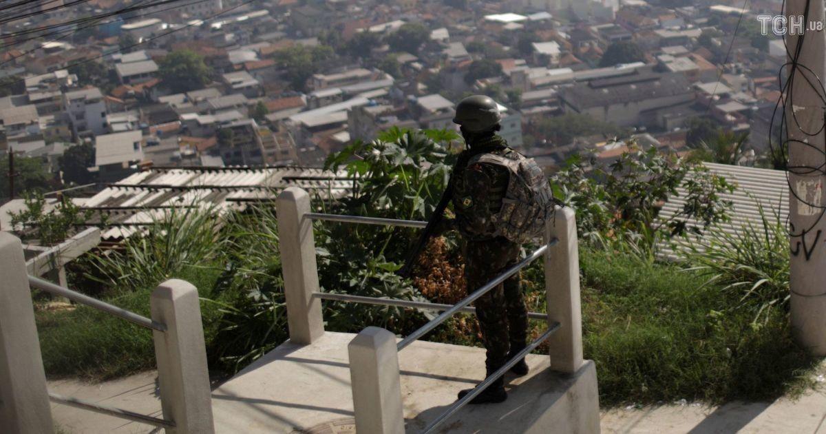 Военная операция против наркоторговцев в Бразилии. Погибли 14 человек