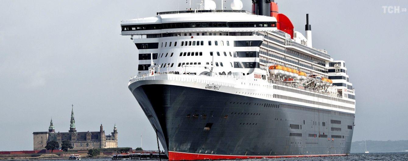 Британка провела в море 10 часов после падения с круизного лайнера