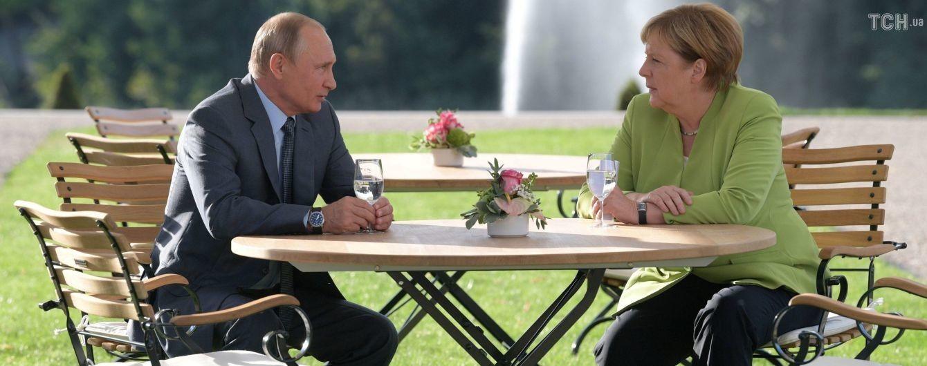 В Германии завершились 3-часовые переговоры Меркель и Путина: о чем они говорили