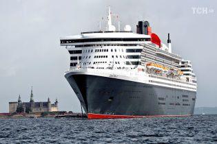 Британка провела в морі 10 годин після падіння з круїзного лайнера