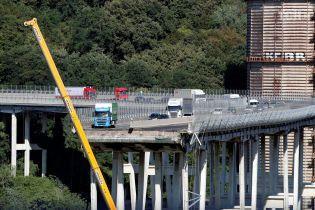 Прокуратура Генуи определилась с персоналиями подозреваемых в обвале моста