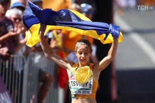 Украинка Цвилий с национальным рекордом выиграла вторую медаль на чемпионате Европы по легкой атлетике