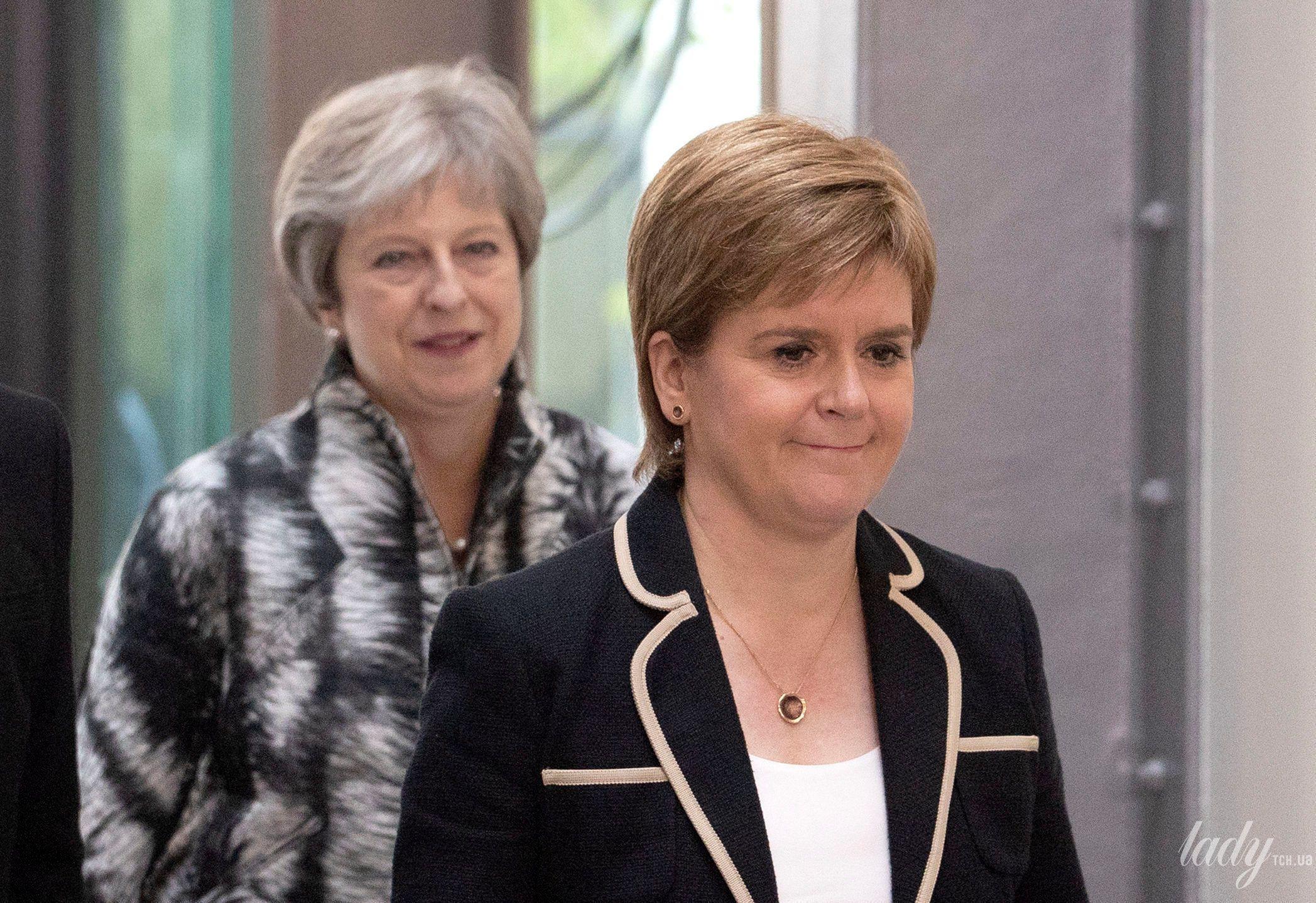 Первый министр Шотландии Никола Стерджен_6