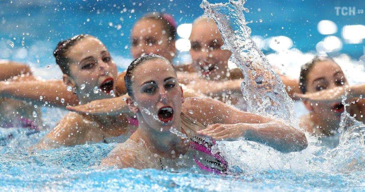Збірна України з синхронного плавання здобула п'яту медаль на чемпіонаті Європи