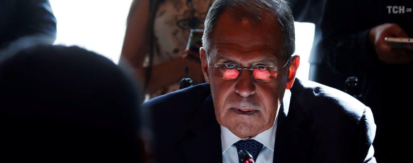 """Лавров считает кощунственными переговоры в """"нормандском формате"""" после убийства Захарченко"""