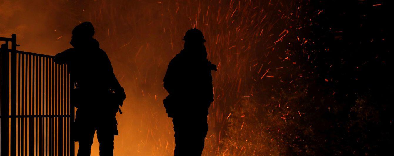 На Львовщине пожар охватил частный отель, пострадала туристка из Беларуси
