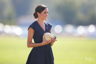 Герцогиня Сассекська Меган і Піппа Міддлтон носять однакові клатчі bbcebcd724274