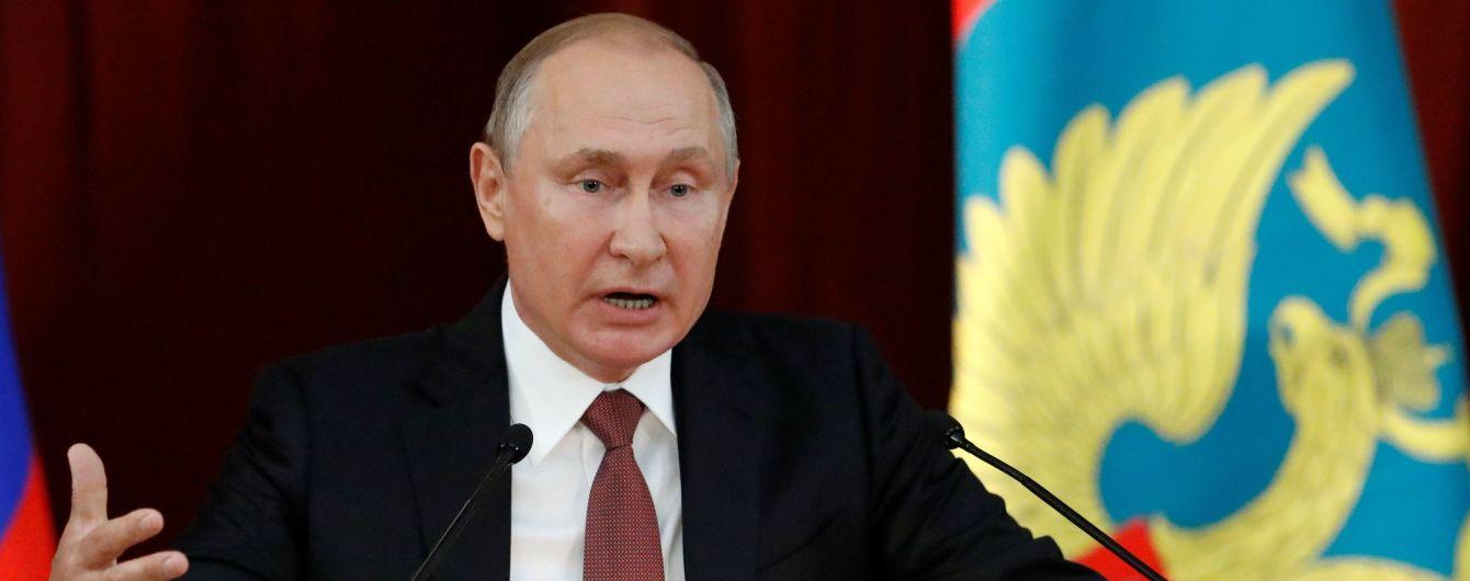 """""""Не останется без ответа"""". Путин пригрозил США мерами за выход из """"ракетного"""" договора"""