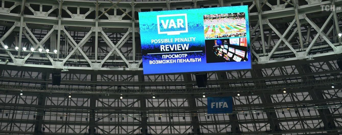 В украинском футболе появятся видеоповторы