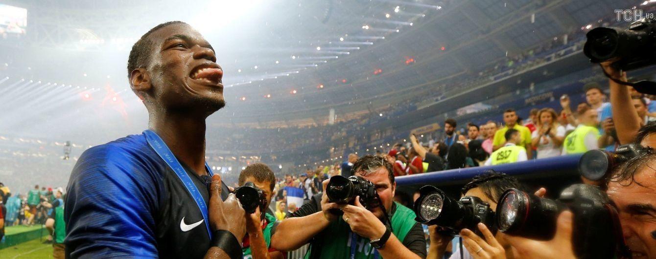 У Мережі з'явилося відео, як Погба мотивував збірну Франції виграти фінал Чемпіонату світу