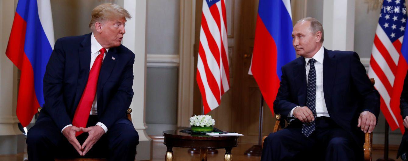 Трамп заявив, що не зустрічатиметься з Путіним у Парижі