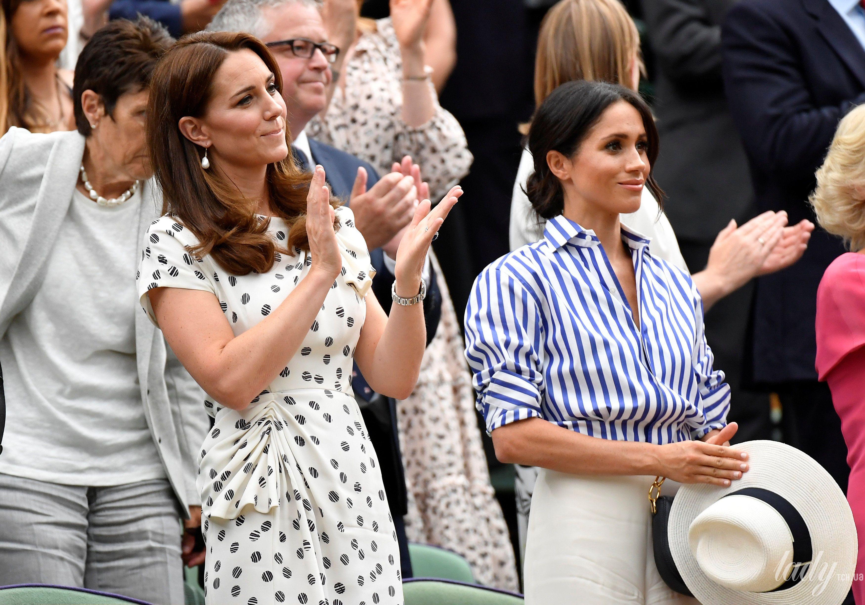 Герцогиня Кембриджская и герцогиня Сассекская_8