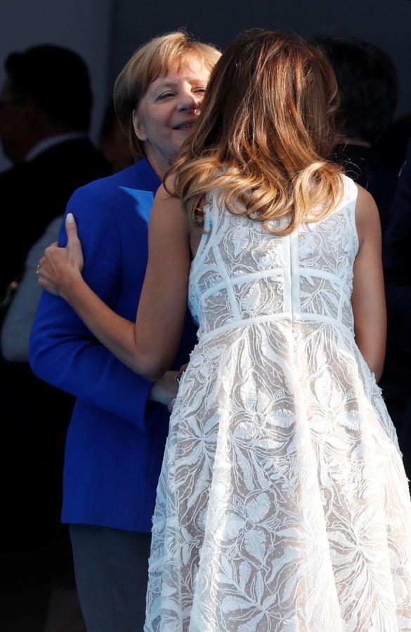 Мелания Трамп на саммите НАТО_1