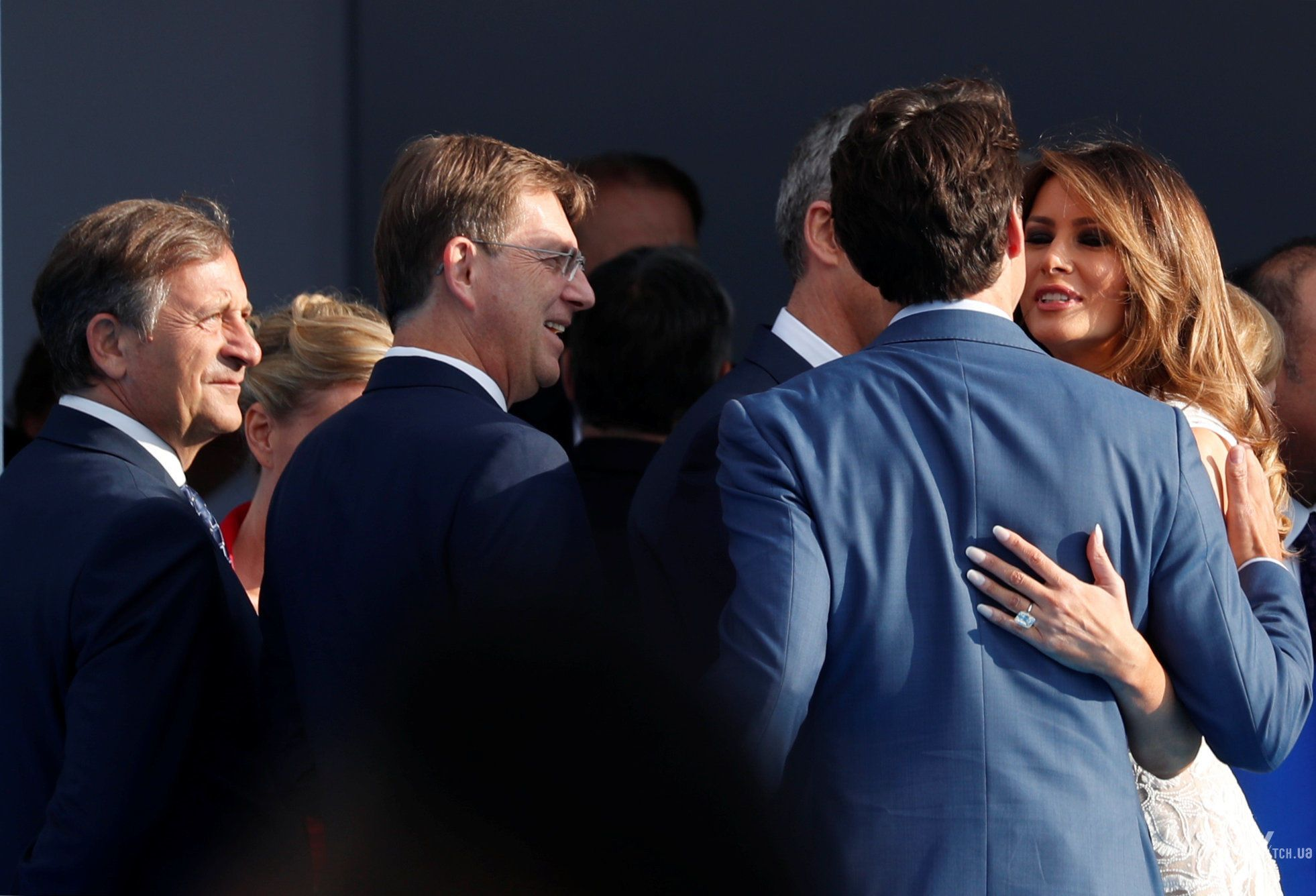 Мелания Трамп на саммите НАТО_9