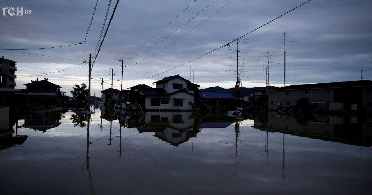 Повінь у Японії