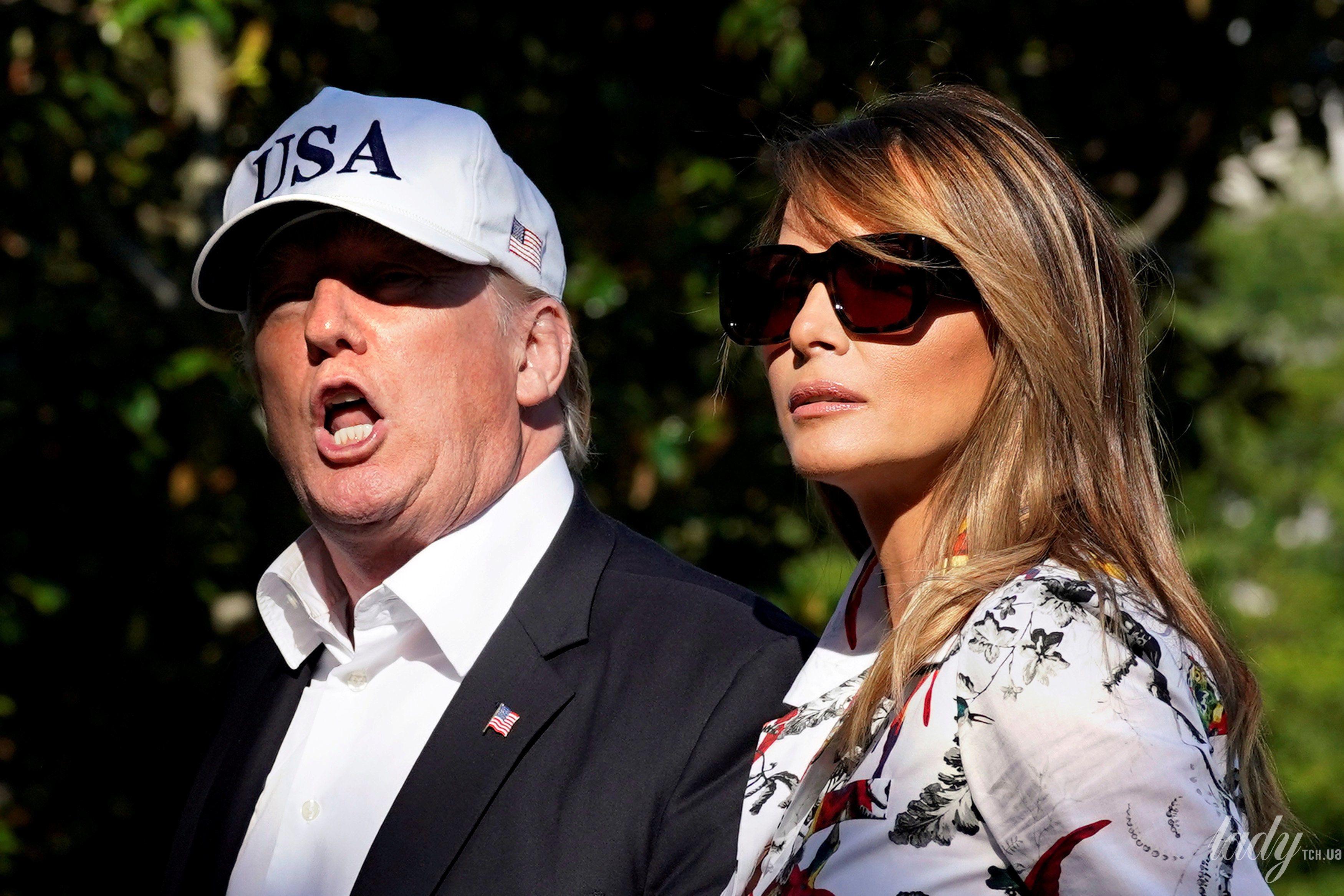 Дональд Трамп и Мелания Трамп_11