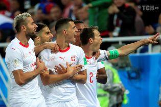 Футболістів збірної Швейцарії оштрафували за політичні жести у матчі ЧС-2018