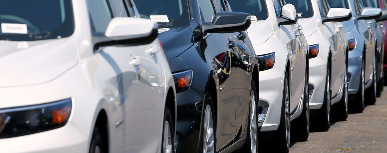 Експерти підрахували, яких кольорів авто найчастіше купують в Україні
