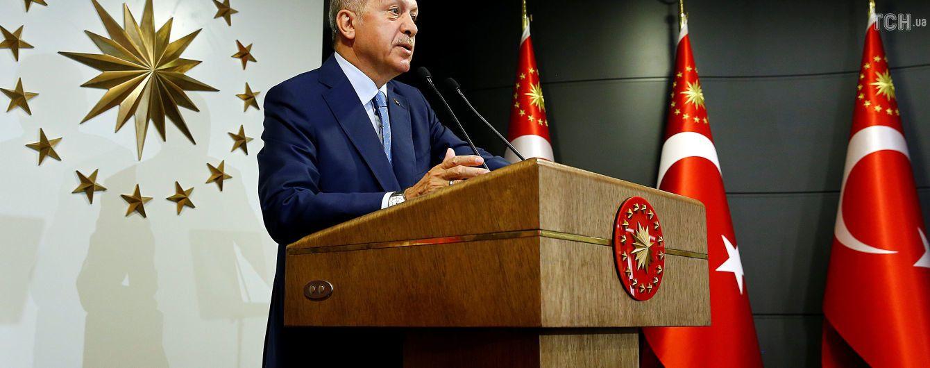 Эрдоган попросил у Джемилева список украинских политзаключенных в РФ