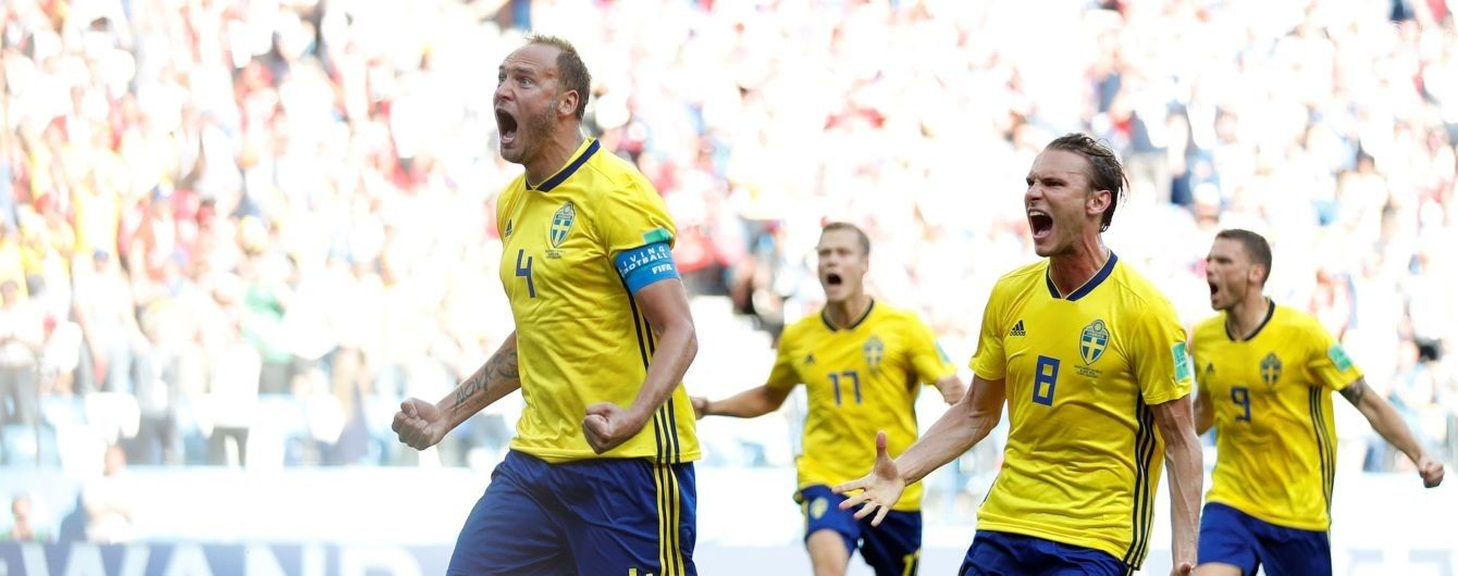 Швеция переиграла Южную Корею благодаря пенальти, назначенному после видеоповтора