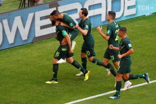 Австралия добыла первые очки на ЧМ-2018 благодаря пенальти