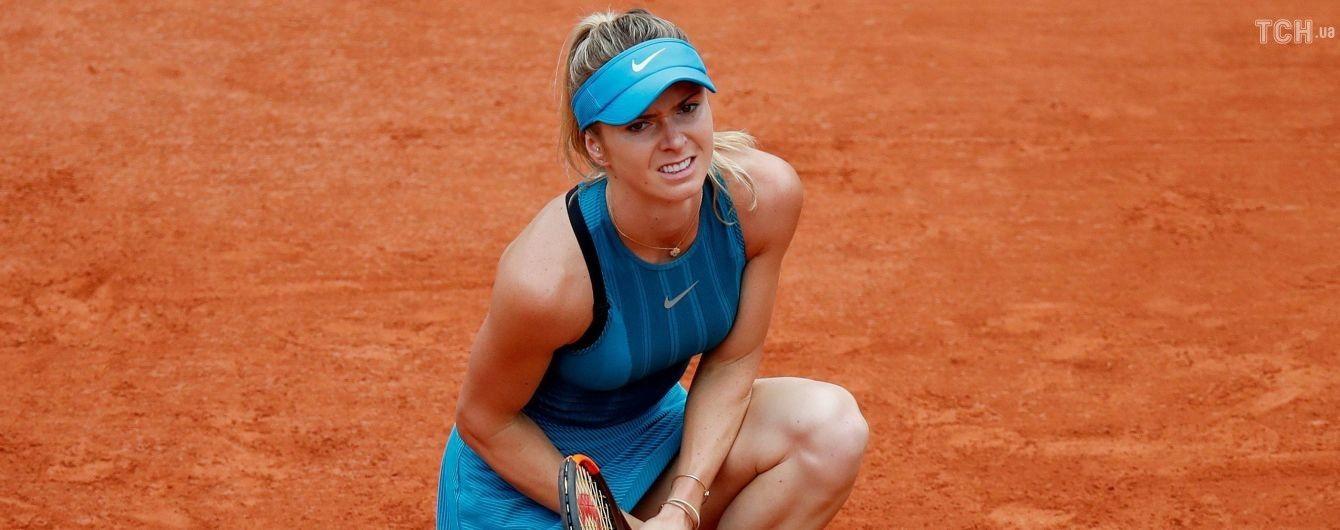 Світоліна опуститься в рейтингу WTA після Roland Garros