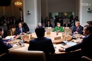 """""""Використанню сили Росією немає виправдання"""". G7 зробила різку заяву щодо агресії РФ у Керченській протоці"""