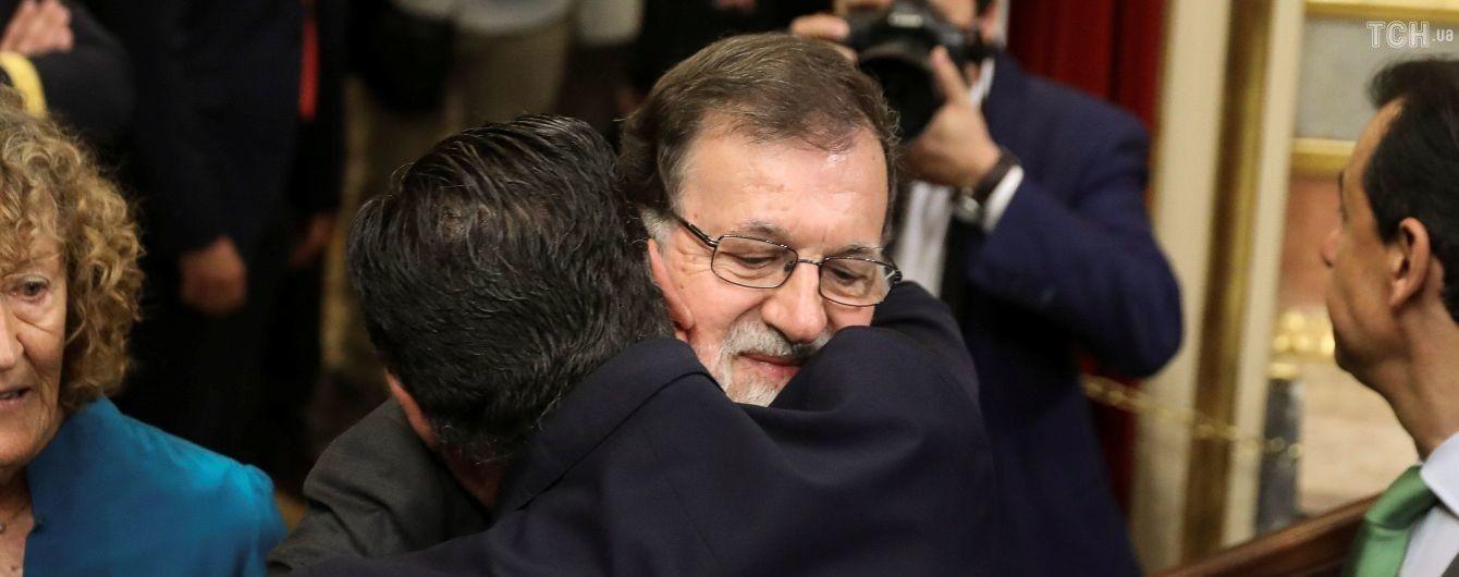 Парламент Іспанії відправив у відставку уряд та прем'єра