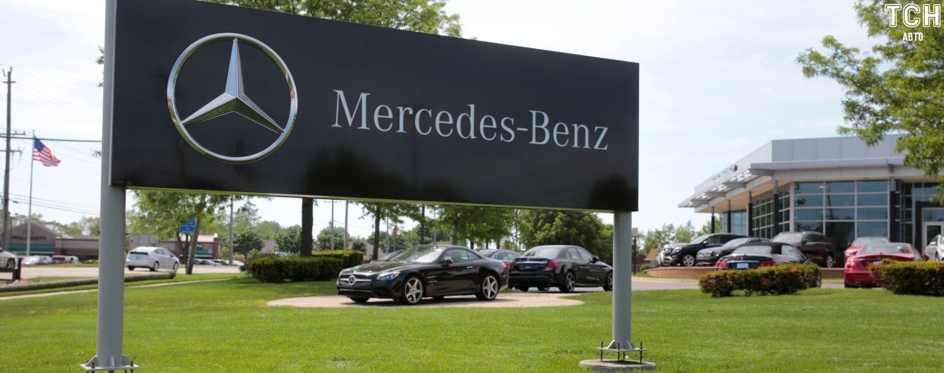 Mercedes затягивают в новый дизельный скандал