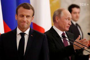Макрон не пригласит Путина на саммит G7 из-за отсутствия прогресса по Украине - СМИ