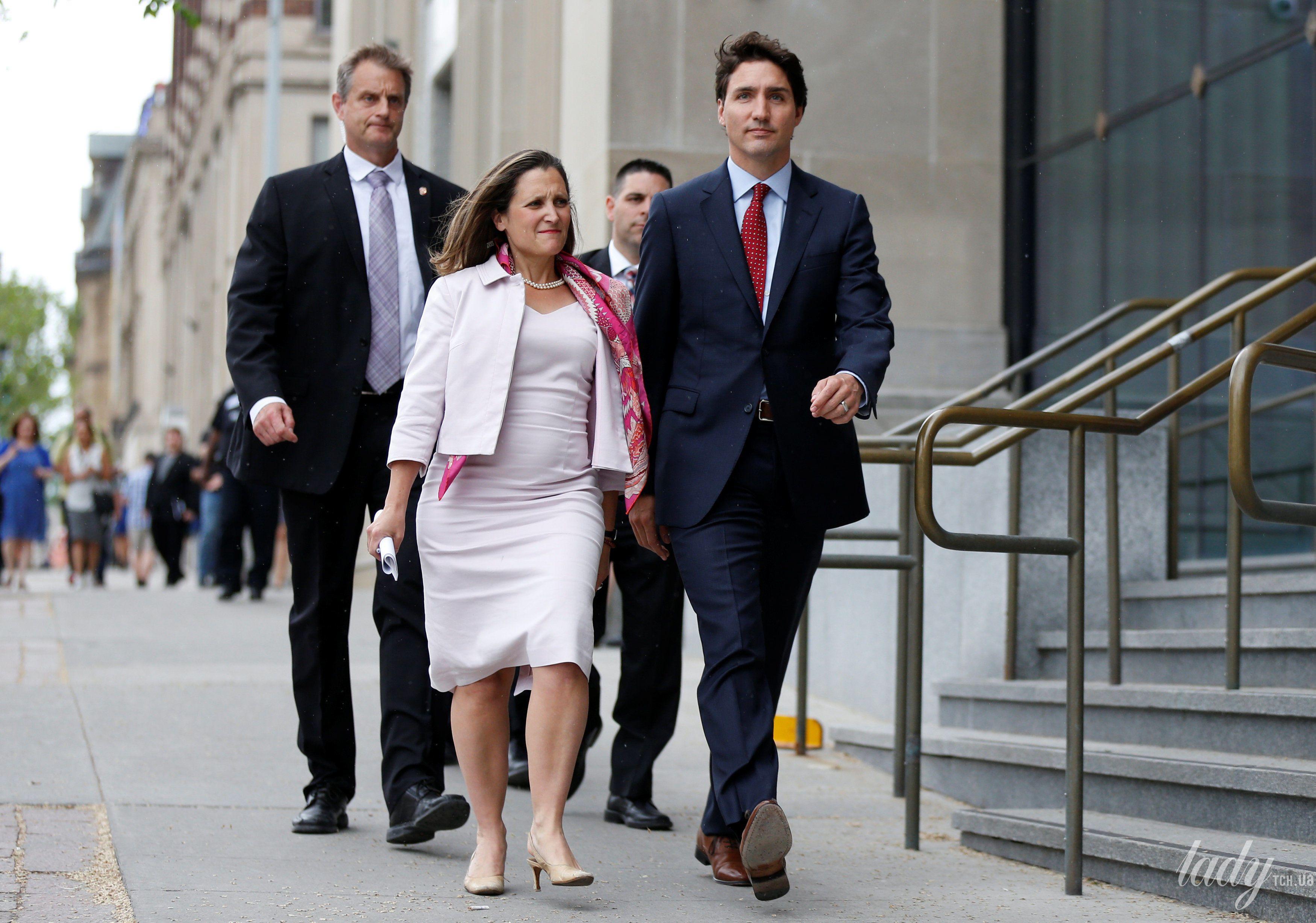 Министр иностранных дел Канады Христя Фриланд_3