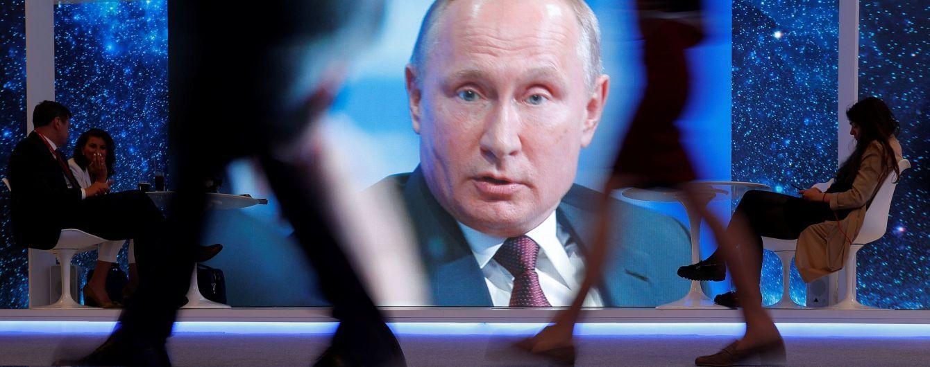 """Вместо ответа на вопрос об МН17 Путин вспомнил """"сбитый Украиной"""" Ту-154"""
