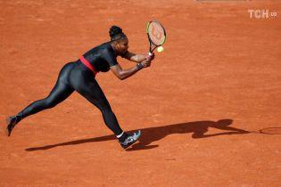 Серена-кішка не вразила. На Roland Garros заборонять епатажні костюми