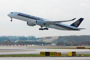 Singapore Airlines запустить найдовший авіарейс у світі