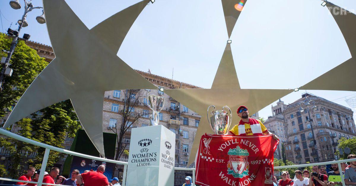 Фан-зона фіналу Ліги чемпіонів на Хрещатику @ Reuters