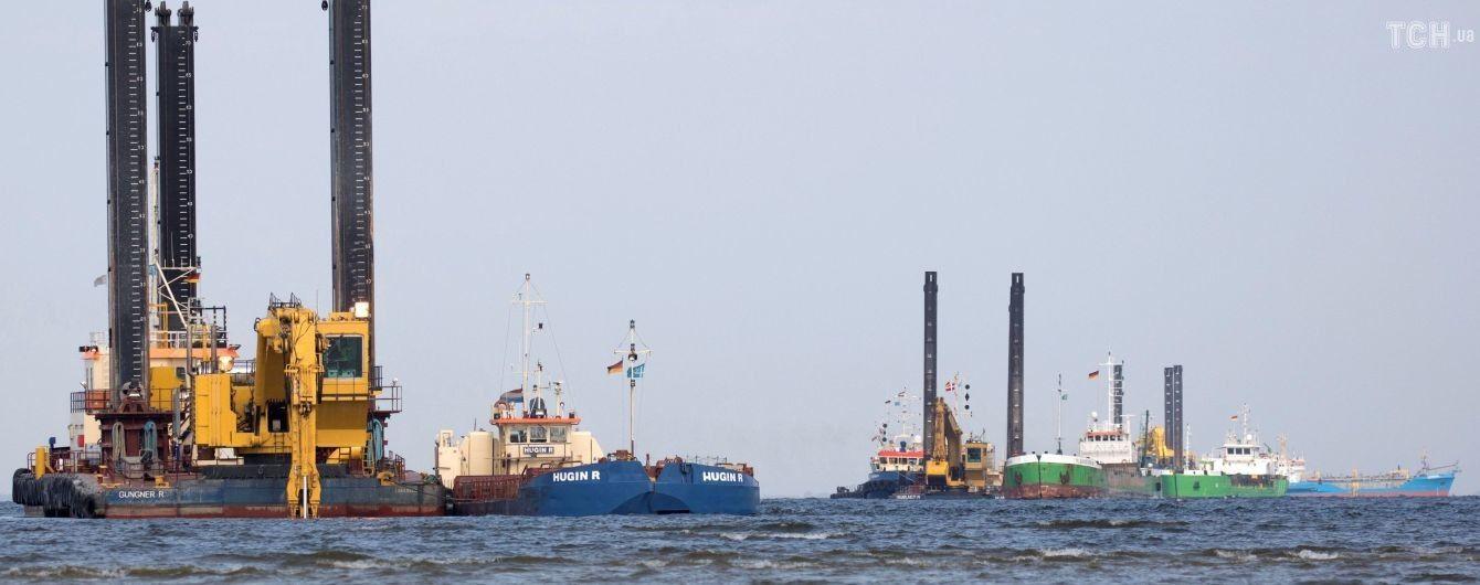 """Российский суд отказался остановить строительство """"Северного потока-2"""" по требованию экологов"""
