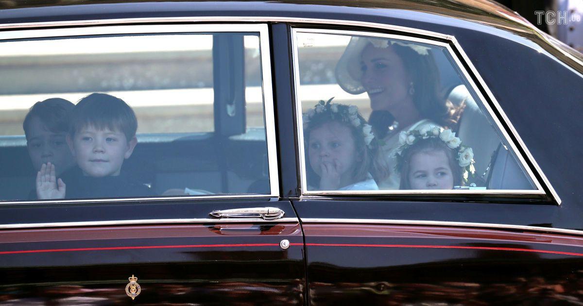 Кейт Міддлтон з дітьми