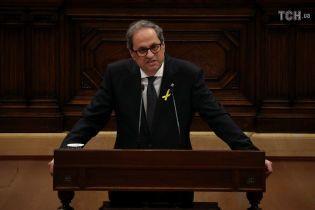 Парламент Каталонии назначил новым главой правительства ставленника Пучдемона