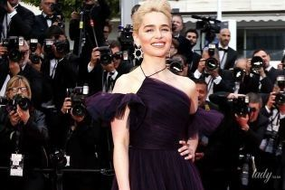 Эффектная Эмилия Кларк вышла на красную дорожку в красивом платье от Dior
