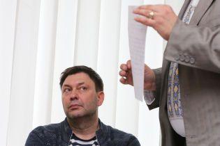 Вышинскому продлили срок содержания под стражей