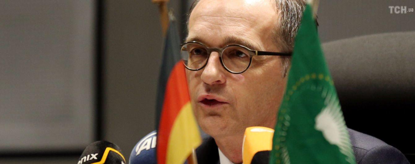 Глава МИД Германии выступил с заявлениями про Украину по завершении визита Путина