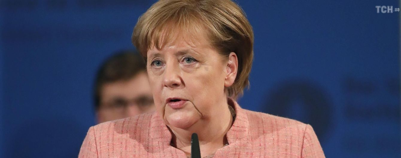 О переговорах канцлера Германии Ангелы Меркель и президента.