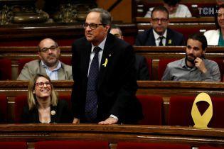 Новообраний очільник Каталонії не присягнув на вірність іспанському королю
