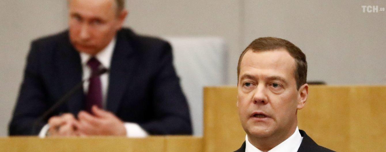 Госдума России продлила премьерство Медведева