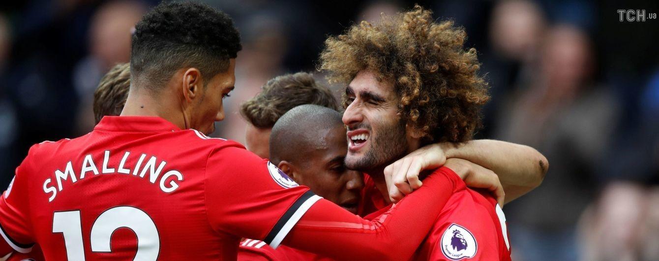"""""""Манчестер Юнайтед"""" на последней минуте вырвал победу в игре с """"Арсеналом"""""""