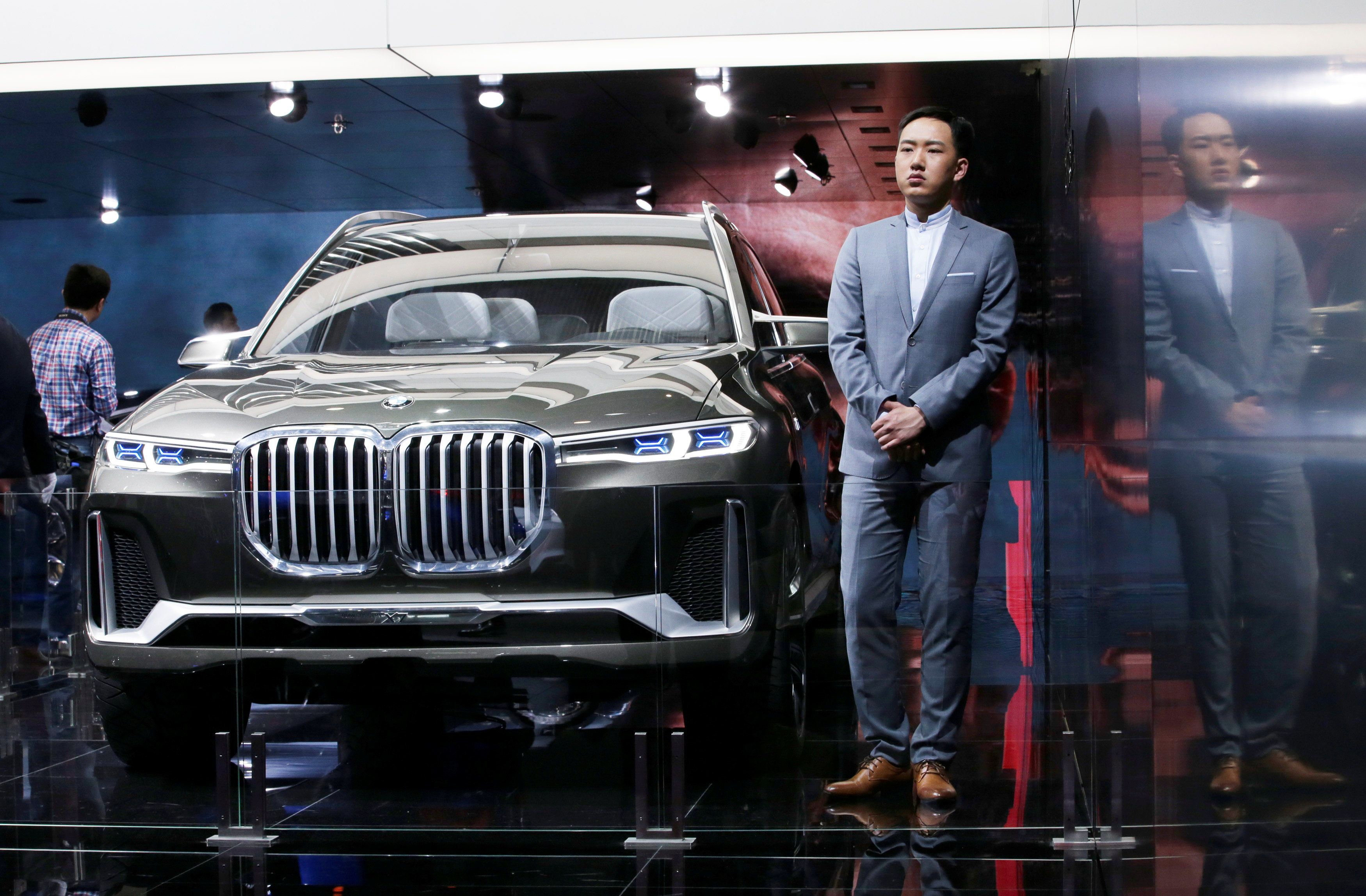 BMW X7, концепт-кар, автосалон, Пекин