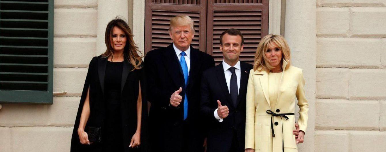 Мелания Трамп побеждает Бриджит Макрон в опросе ТСН о стильности одежды